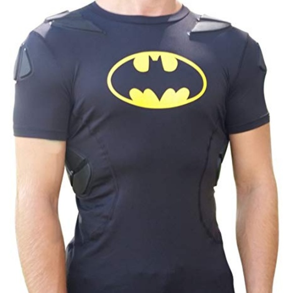 7d047606 Under Armour Shirts & Tops | Batman Alter Ego Padded Slim Fit Ylg ...